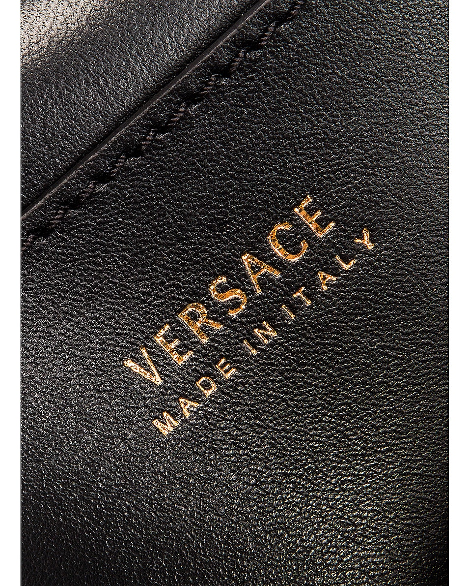 Image 7 of VERSACE Tribute Shoulder Bag in Black & Gold