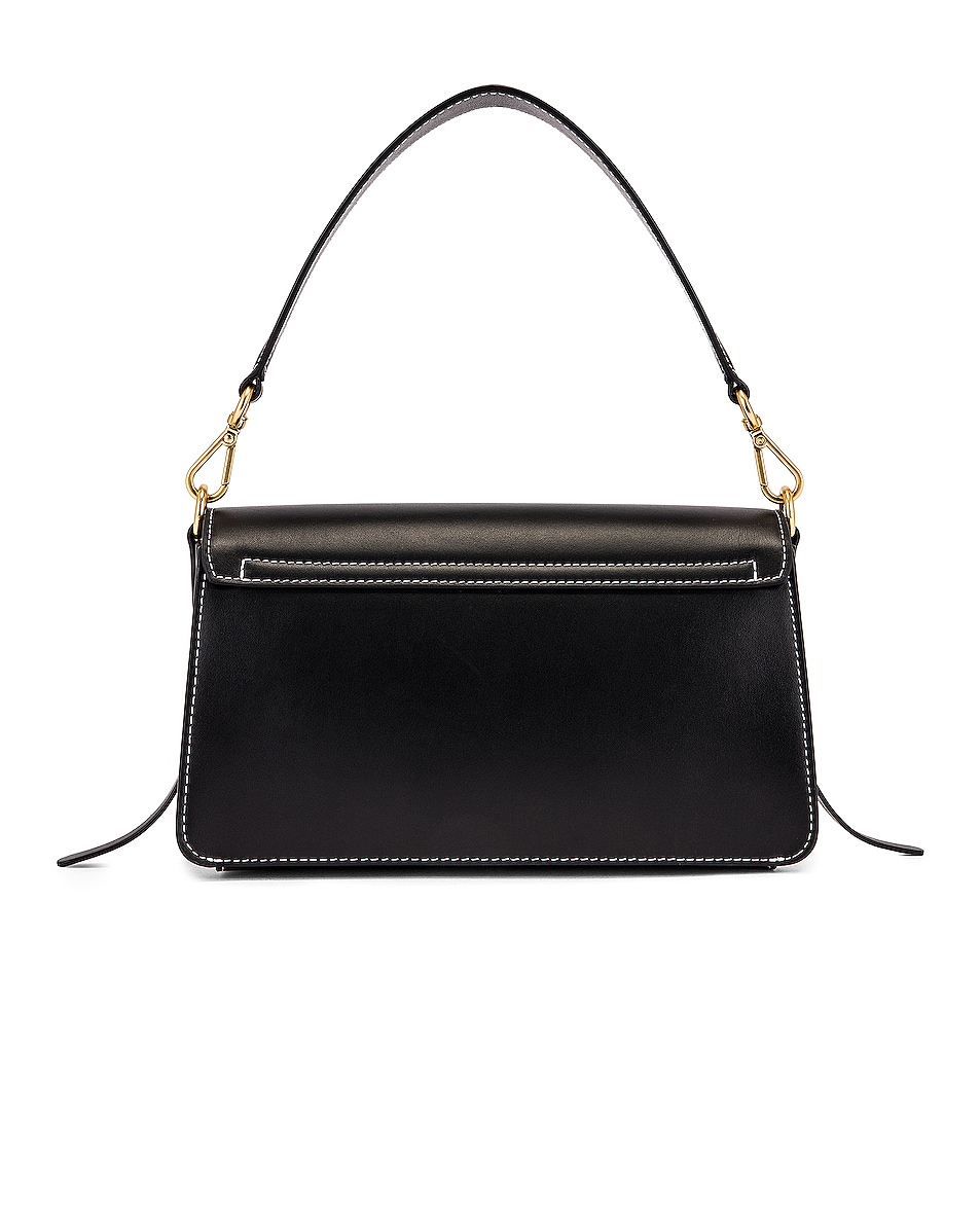 Image 3 of Wandler Georgia Leather Bag in Black