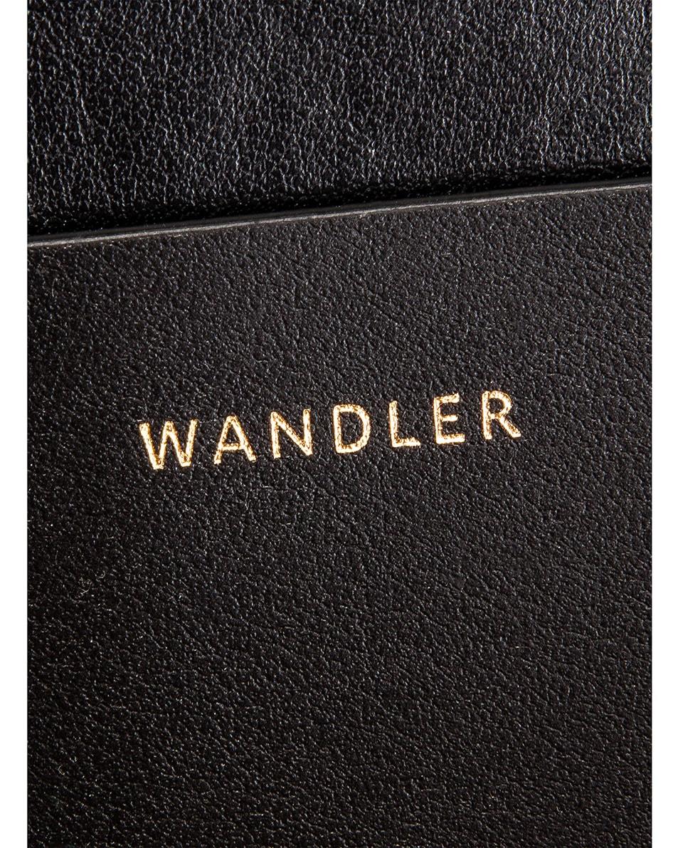 Image 7 of Wandler Mini Hortensia Leather Bag in Beige Zebra