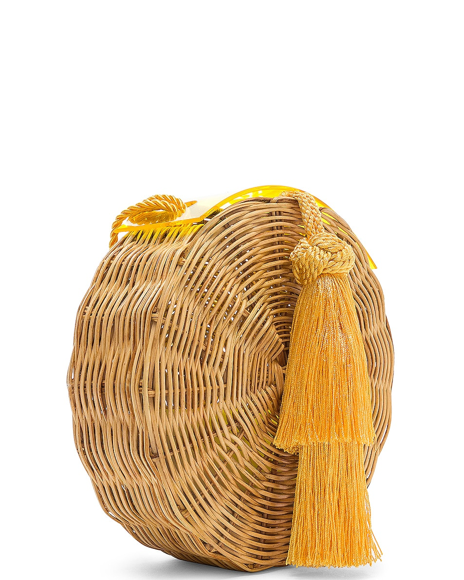 Image 3 of Wai Wai Petit Balaio Bag in Yellow