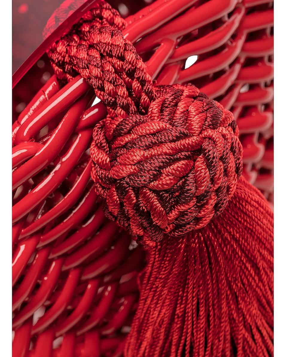 Image 8 of Wai Wai Petit Balaio Bag in Red