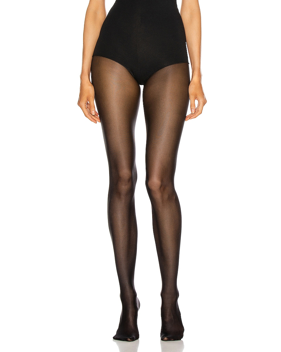 Image 1 of Wolford Neon 40 Tights in Black