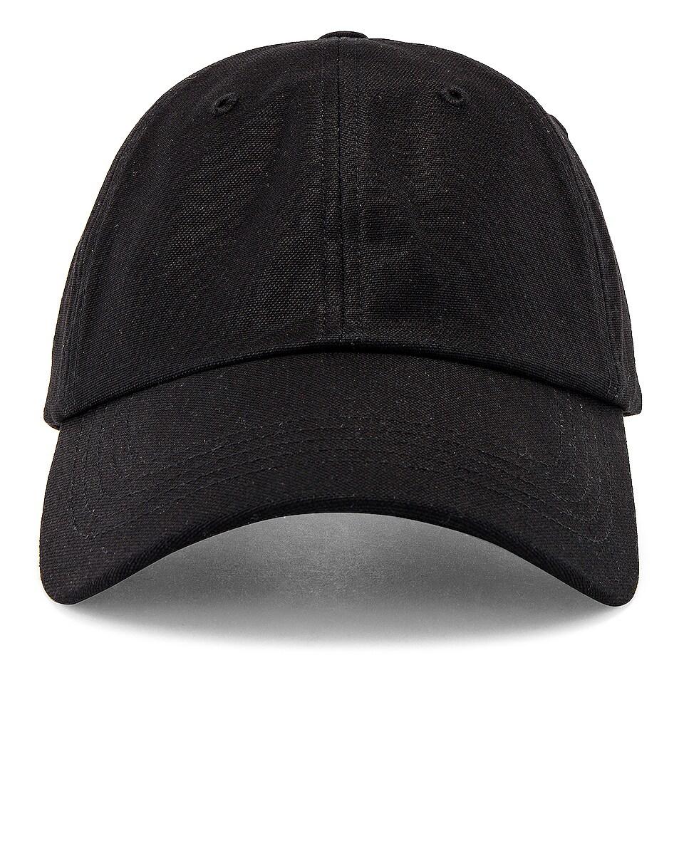 Image 1 of Y-3 Yohji Yamamoto Dad Cap in Black