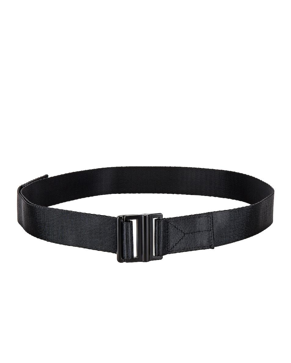 Image 1 of Y-3 Yohji Yamamoto Y-3 Classic Logo Belt in Black