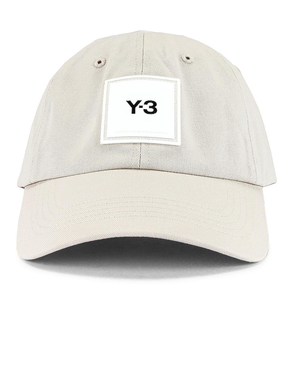 Image 1 of Y-3 Yohji Yamamoto Square Label Cap in Clear Brown