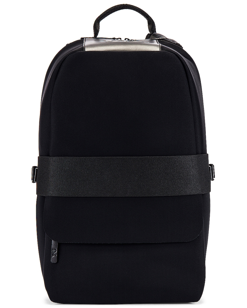 Image 1 of Y-3 Yohji Yamamoto Qasa Backpack in Black