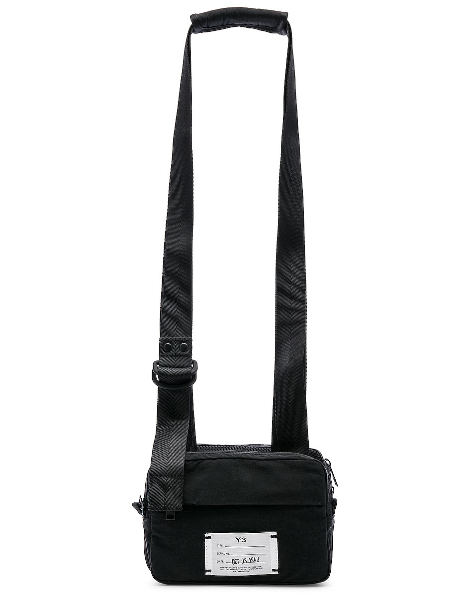 ad94d0665b4a Image 1 of Y-3 Yohji Yamamoto Multi Pocket Bag in Black