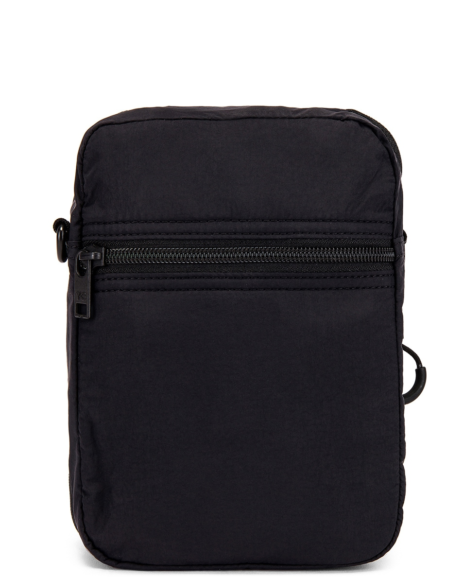 Image 2 of Y-3 Yohji Yamamoto Packable Airliner in Off White & Black