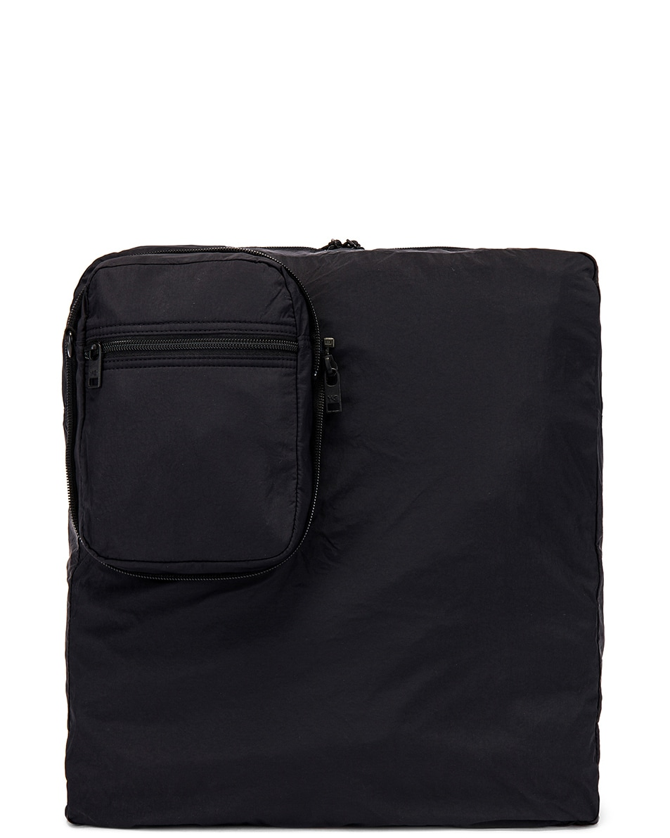 Image 5 of Y-3 Yohji Yamamoto Packable Airliner in Off White & Black