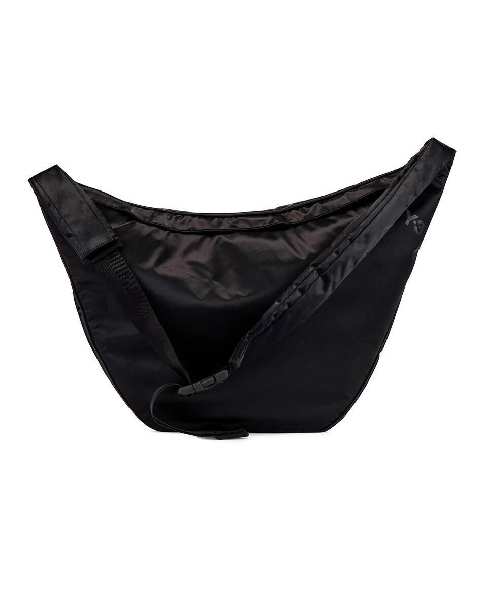 Image 2 of Y-3 Yohji Yamamoto Sneakerbag in Black