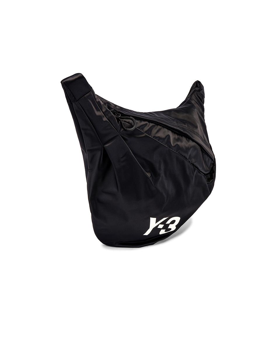 Image 3 of Y-3 Yohji Yamamoto Sneakerbag in Black