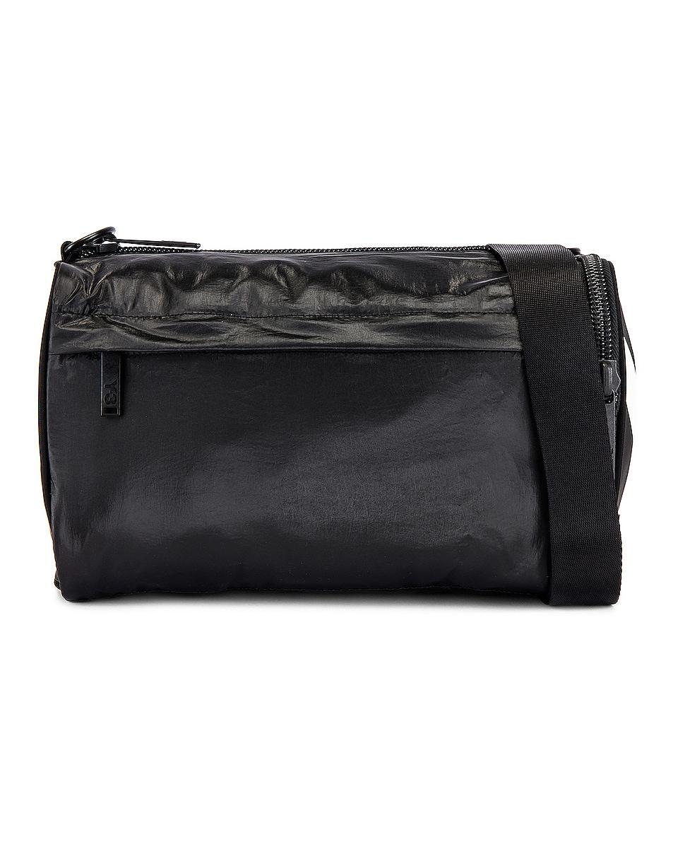 Image 2 of Y-3 Yohji Yamamoto Mini Gymbag in Black & Core White