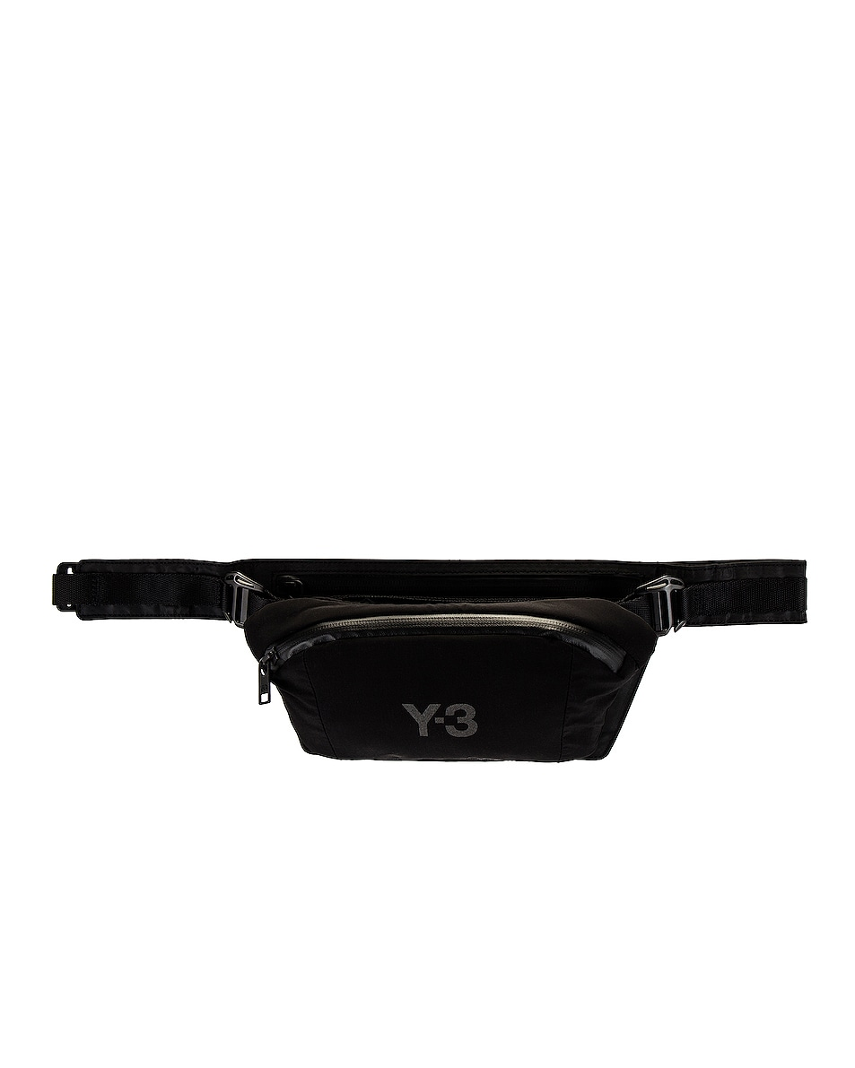 Image 1 of Y-3 Yohji Yamamoto Y-3 CH1 Reflective Belt Bag in Night Grey