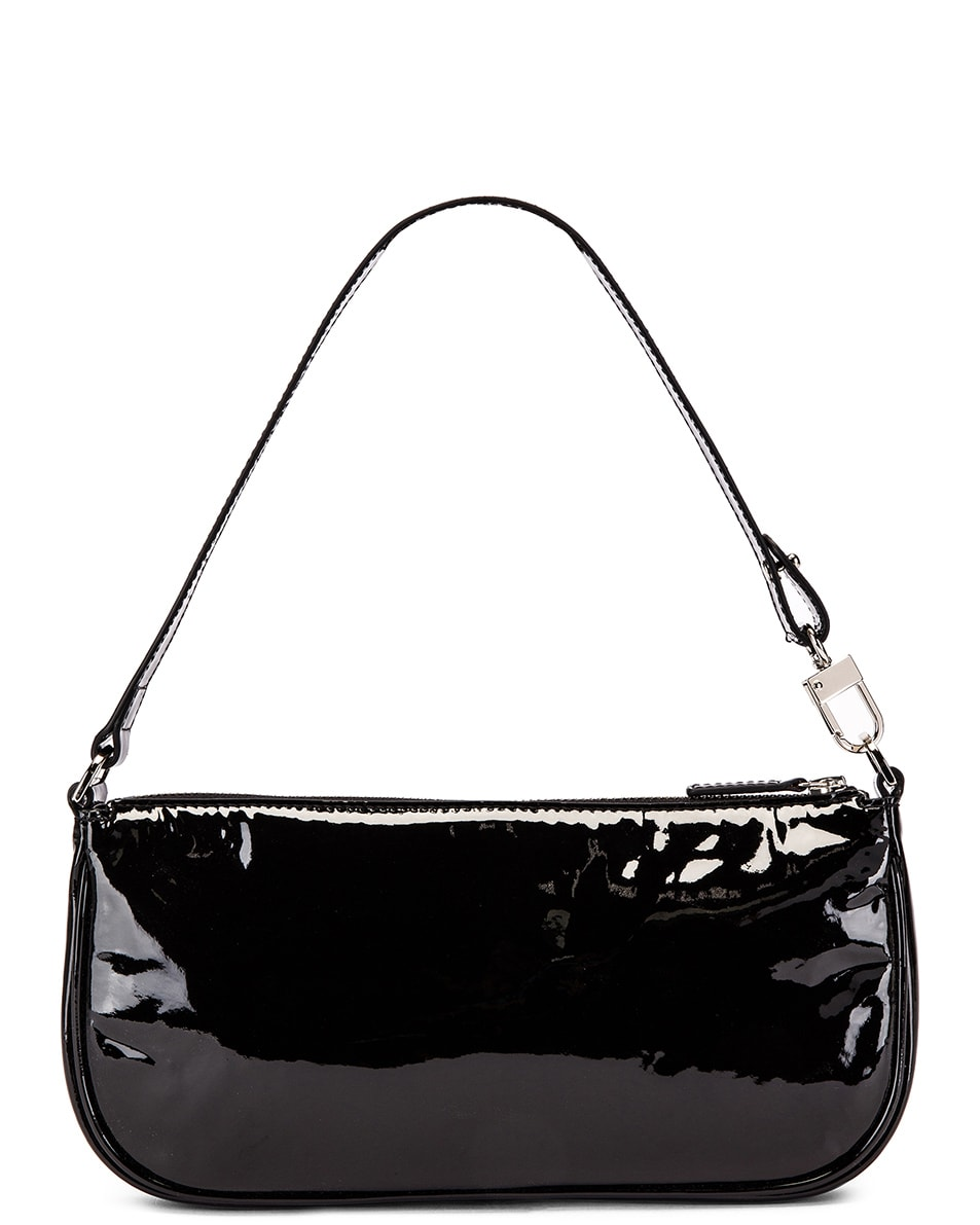 Image 1 of BY FAR Rachel Patent Leather Bag in Black