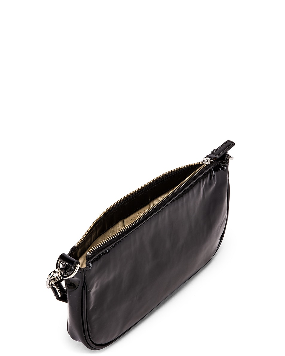 Image 4 of By Far Rachel Patent Leather Bag in Black