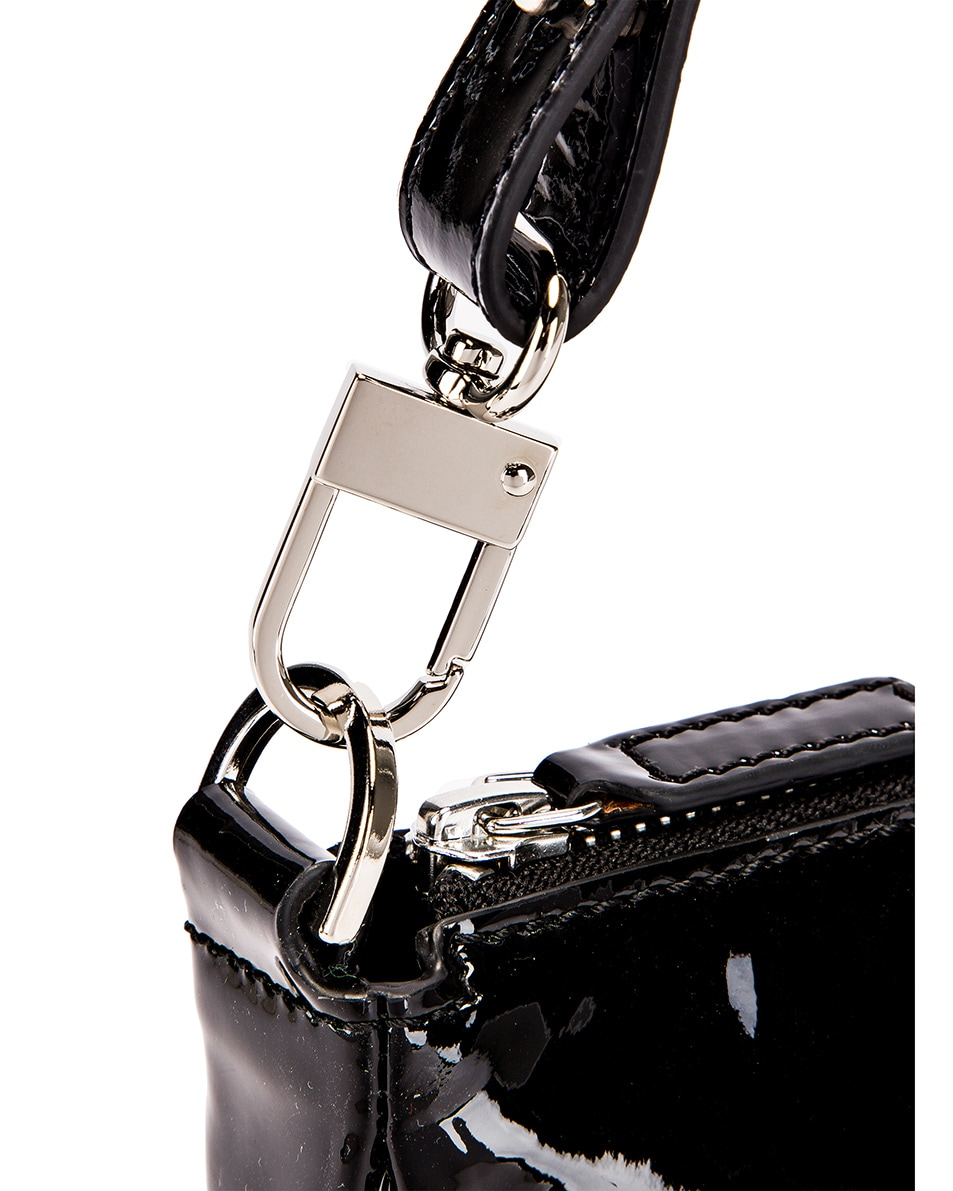 Image 6 of By Far Rachel Patent Leather Bag in Black