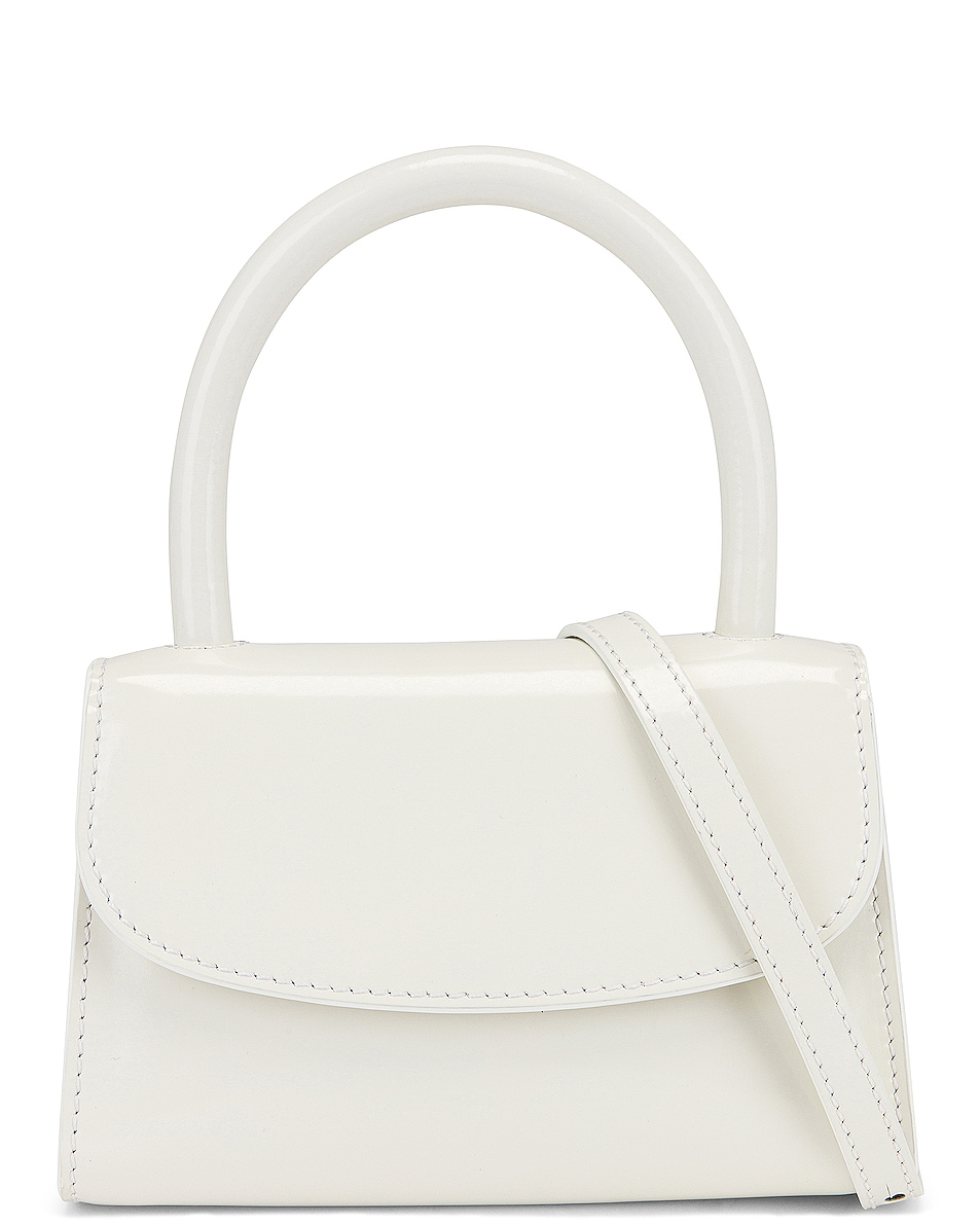 Image 1 of BY FAR Mini Bag in White