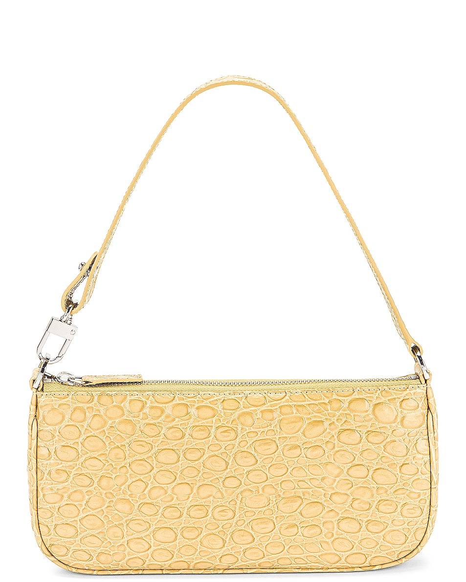 Image 1 of BY FAR Rachel Bag in Flax