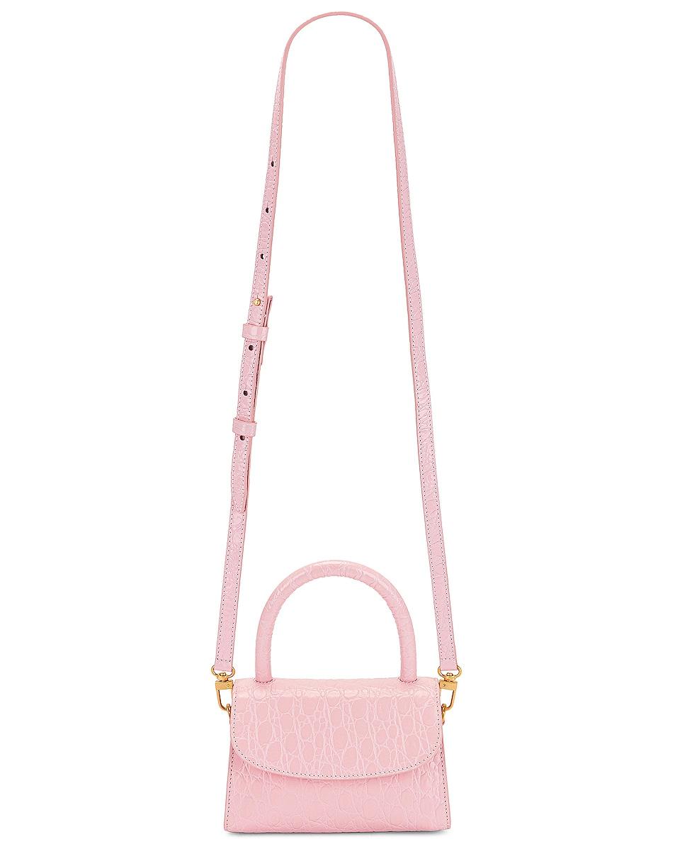 Image 1 of BY FAR Mini Bag in Peony