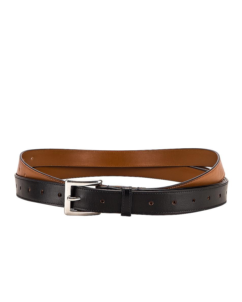 Image 2 of Y/Project Split Belt in Black
