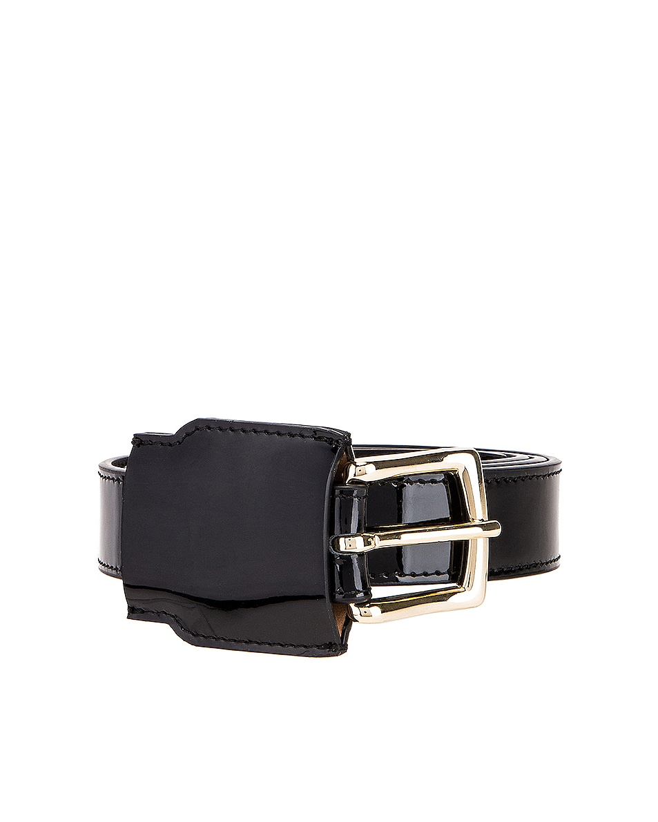 Image 1 of Y/Project Covered Belt in Black