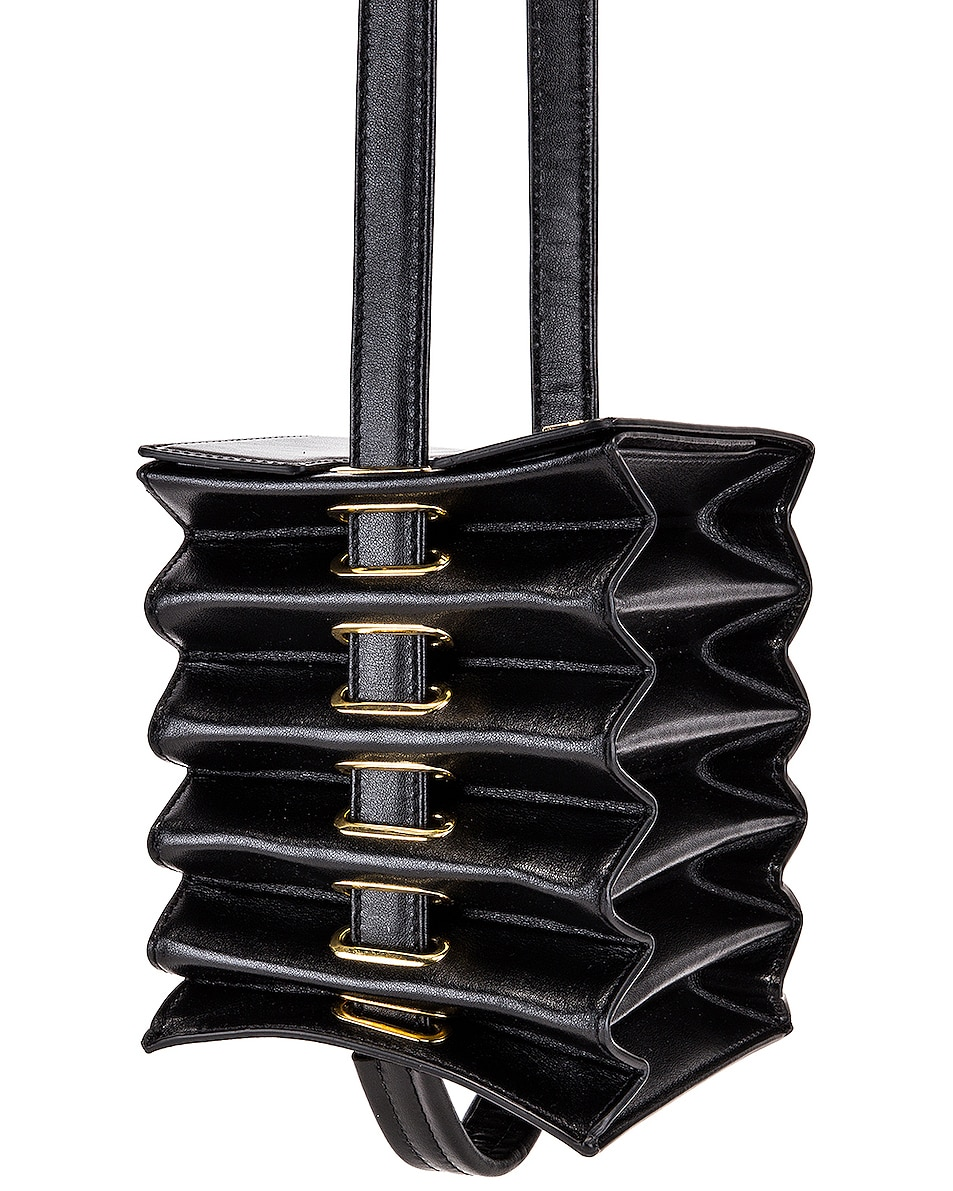 Image 4 of Y/Project Mini Accordion Bag in Black