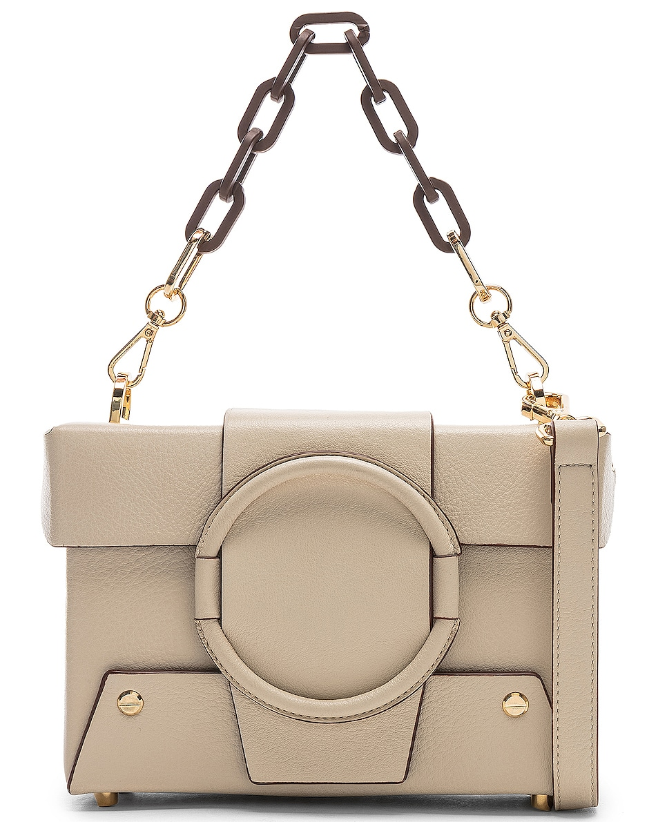 Image 1 of Yuzefi Asher Bag in Cream & Brown