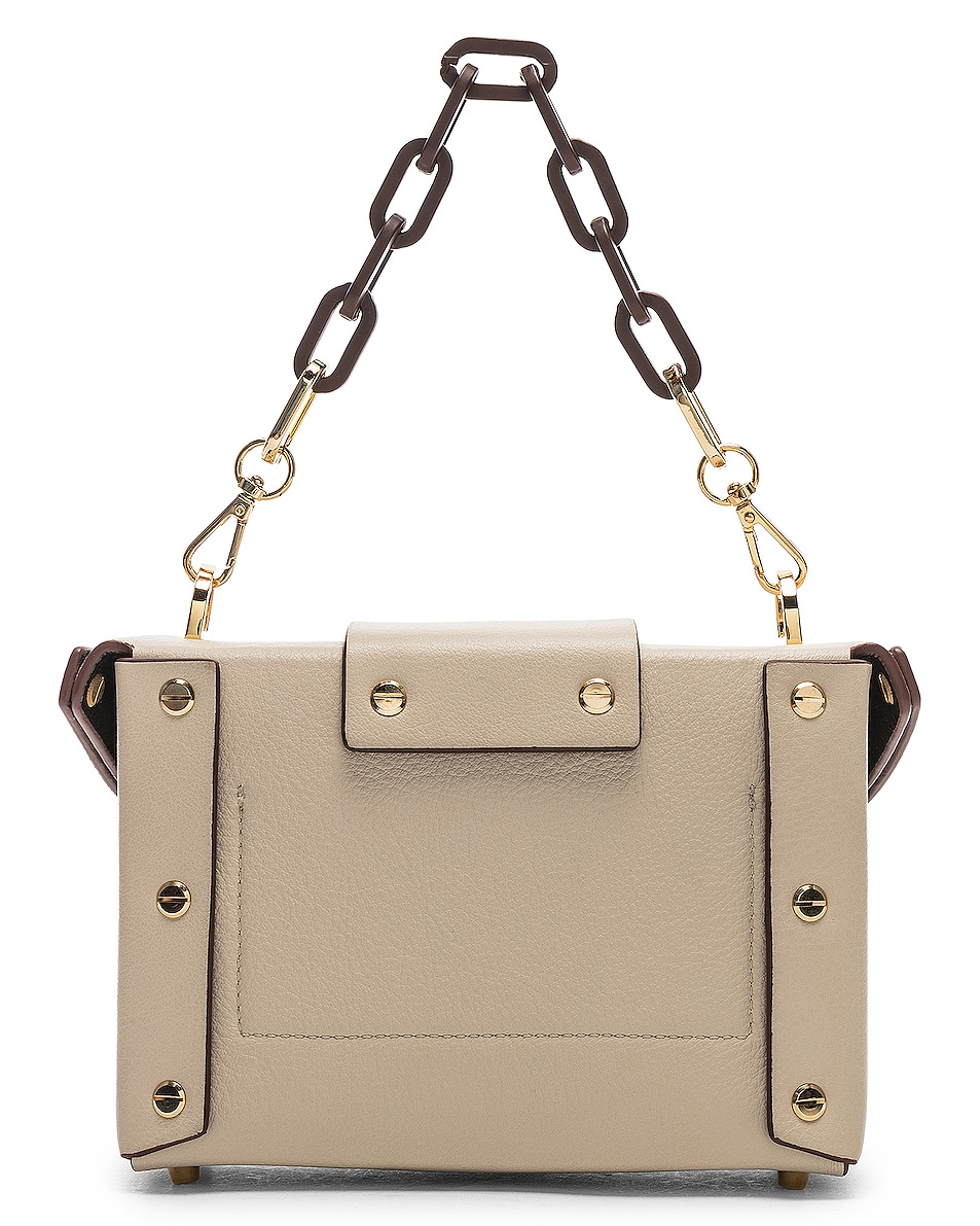 Image 3 of Yuzefi Asher Bag in Cream & Brown