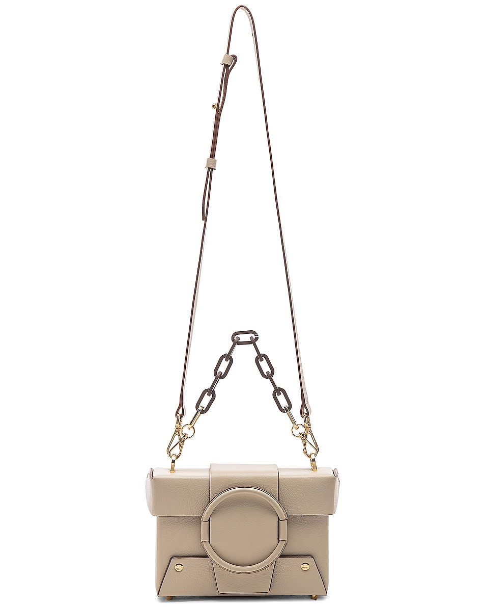 Image 6 of Yuzefi Asher Bag in Cream & Brown