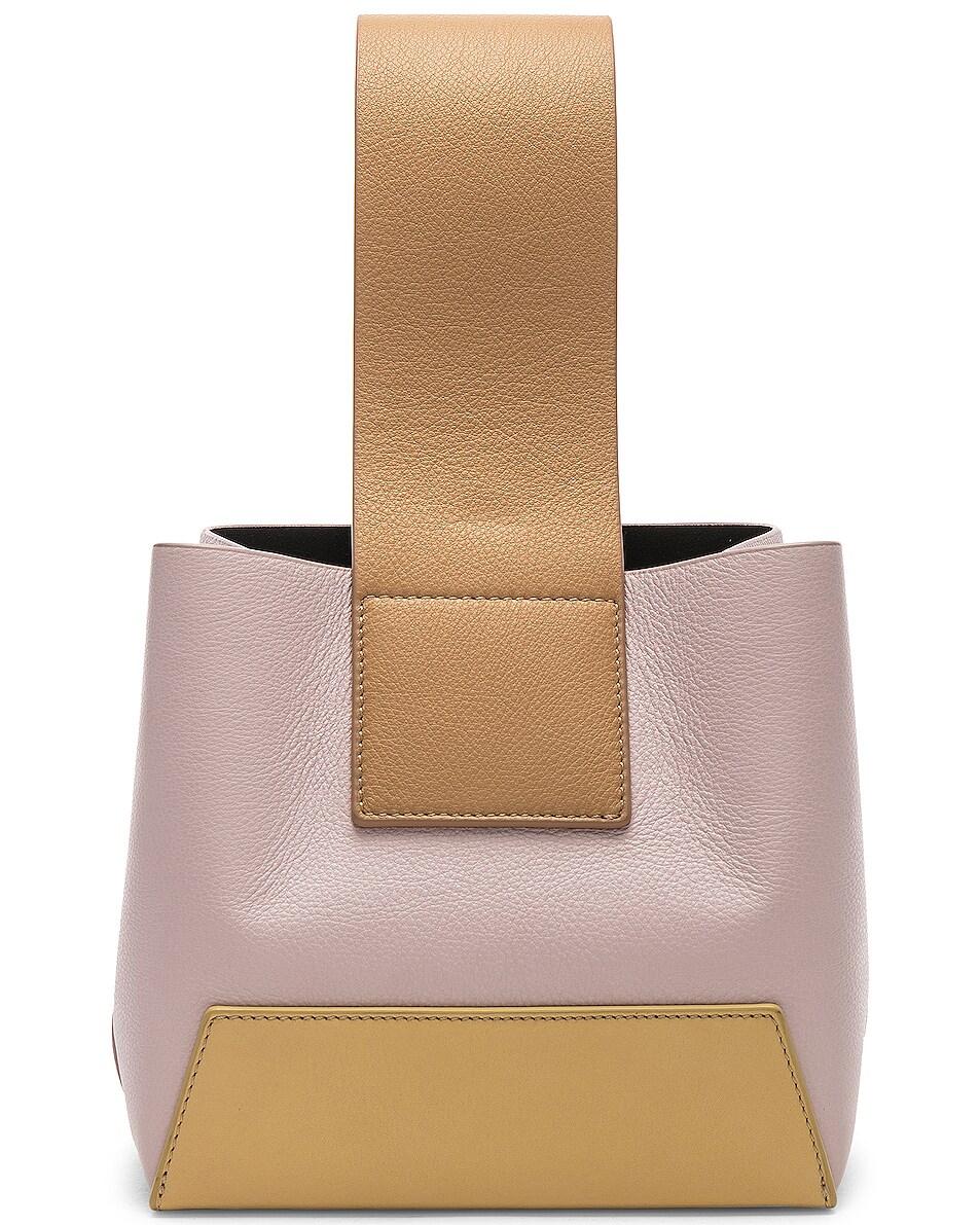 Image 1 of Yuzefi Tab Bag in Yellow & Pink