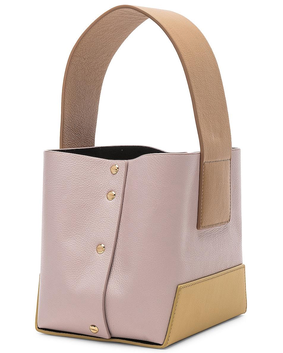 Image 3 of Yuzefi Tab Bag in Yellow & Pink