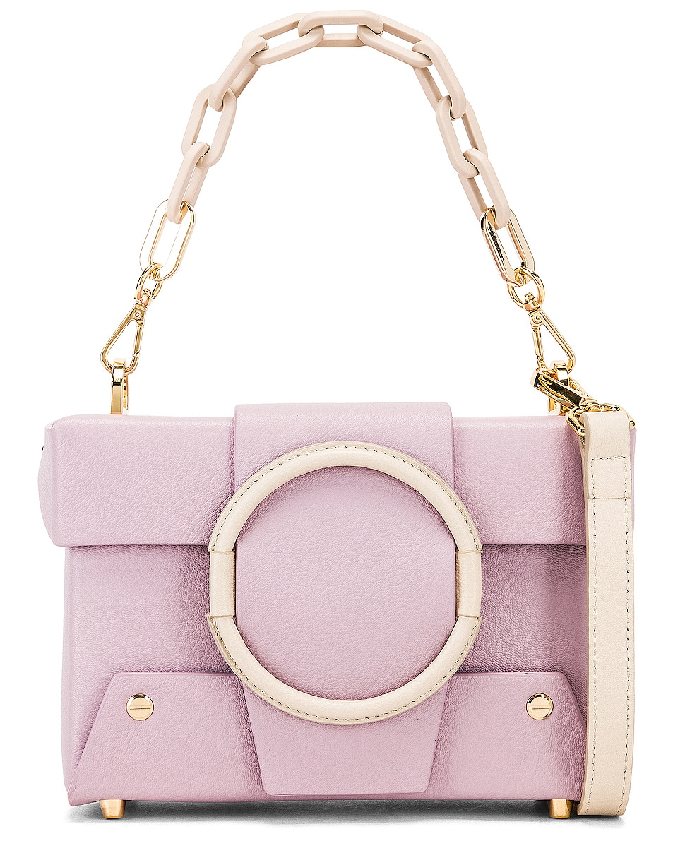 Image 1 of Yuzefi Asher Bag in Lilac & Cream