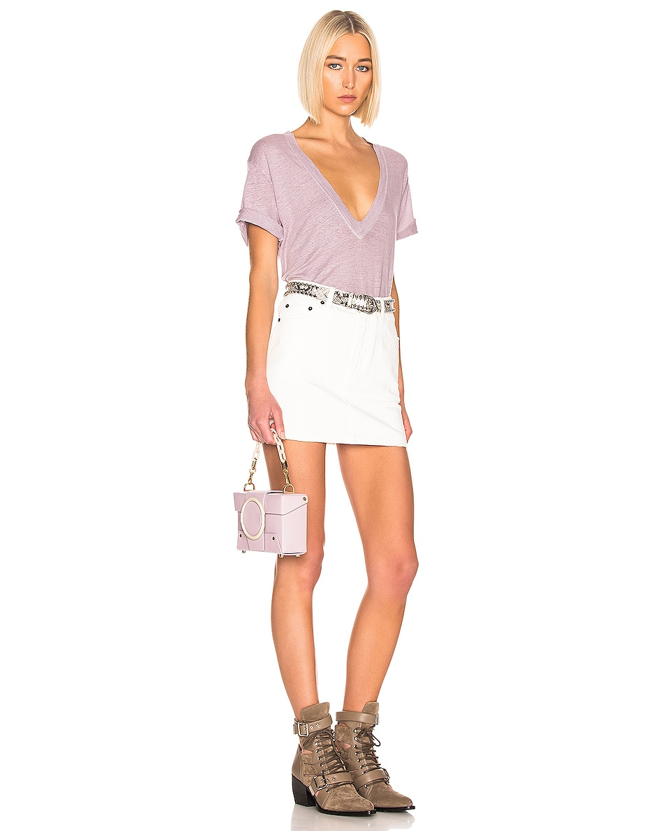 Image 2 of Yuzefi Asher Bag in Lilac & Cream