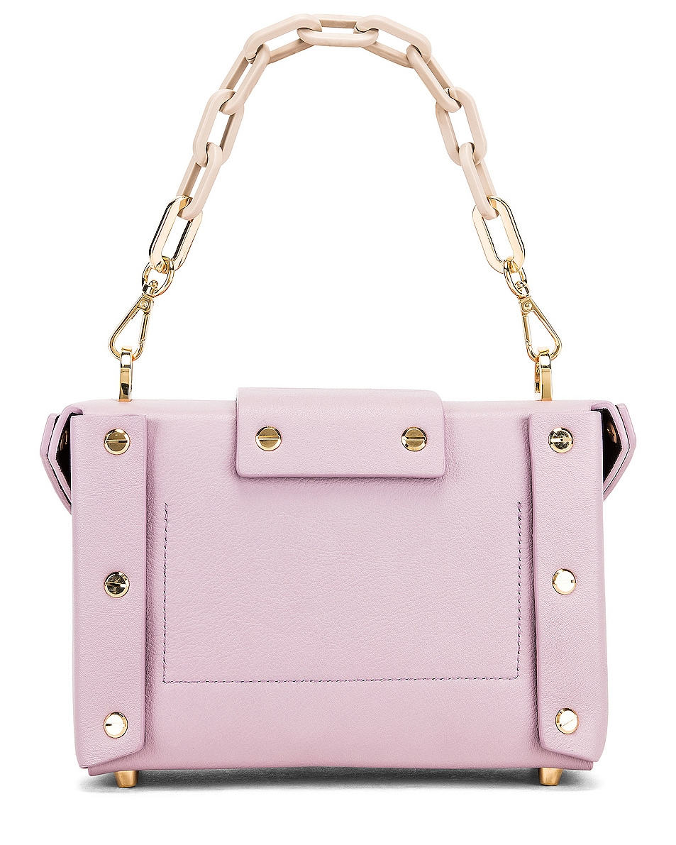Image 3 of Yuzefi Asher Bag in Lilac & Cream