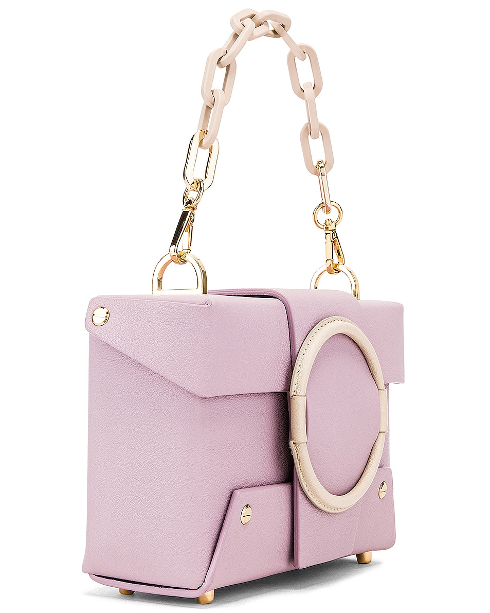 Image 4 of Yuzefi Asher Bag in Lilac & Cream