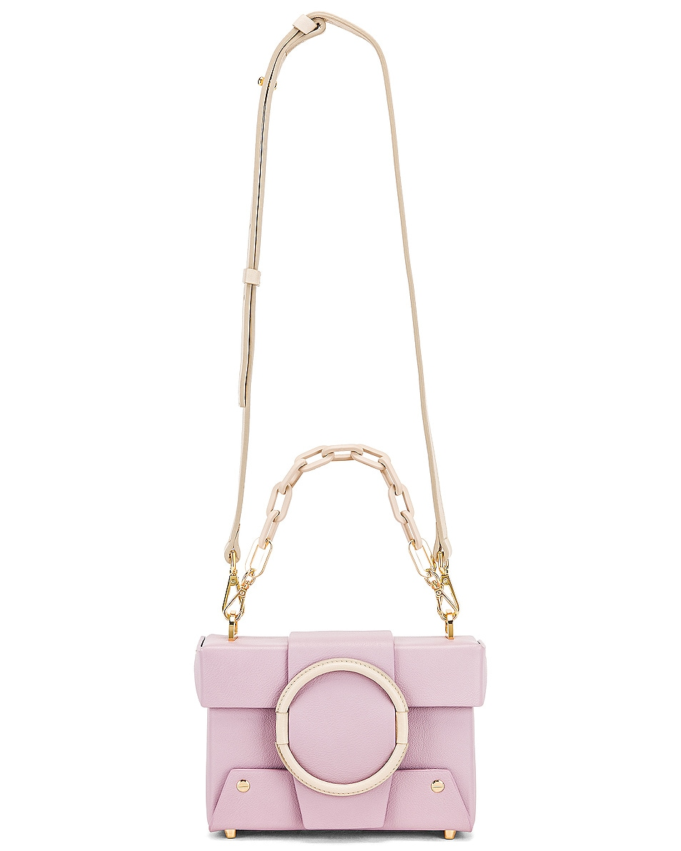 Image 6 of Yuzefi Asher Bag in Lilac & Cream