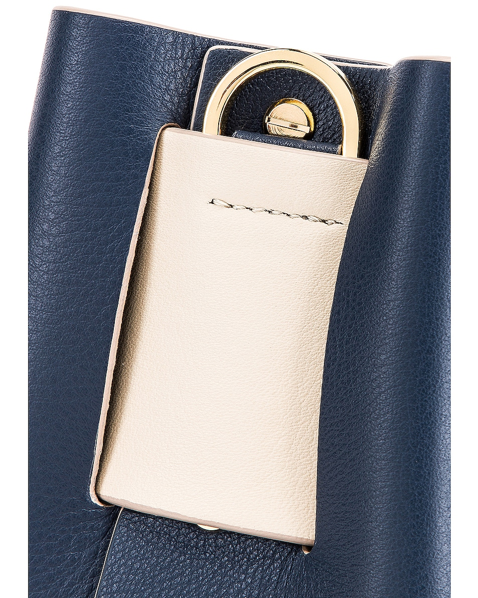 Image 8 of Yuzefi Dinky Bag in Navy & Blue