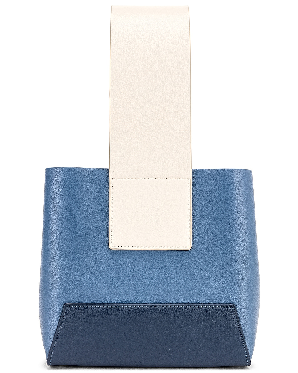 Image 3 of Yuzefi Tab Bag in Blue & Navy