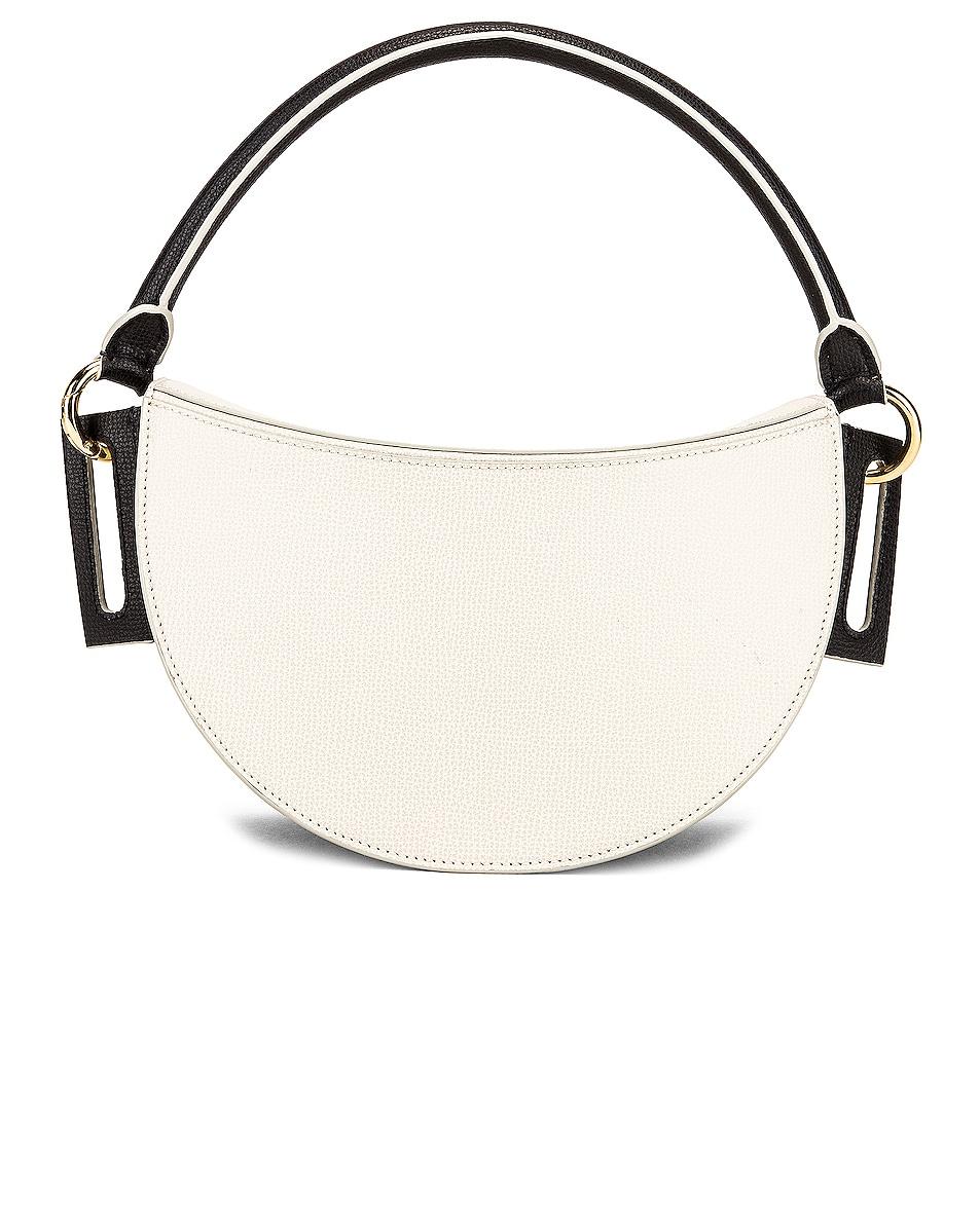 Image 3 of Yuzefi Dip Bag in Nero & Cream