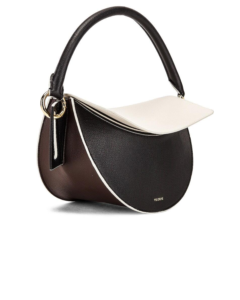 Image 4 of Yuzefi Dip Bag in Nero & Cream