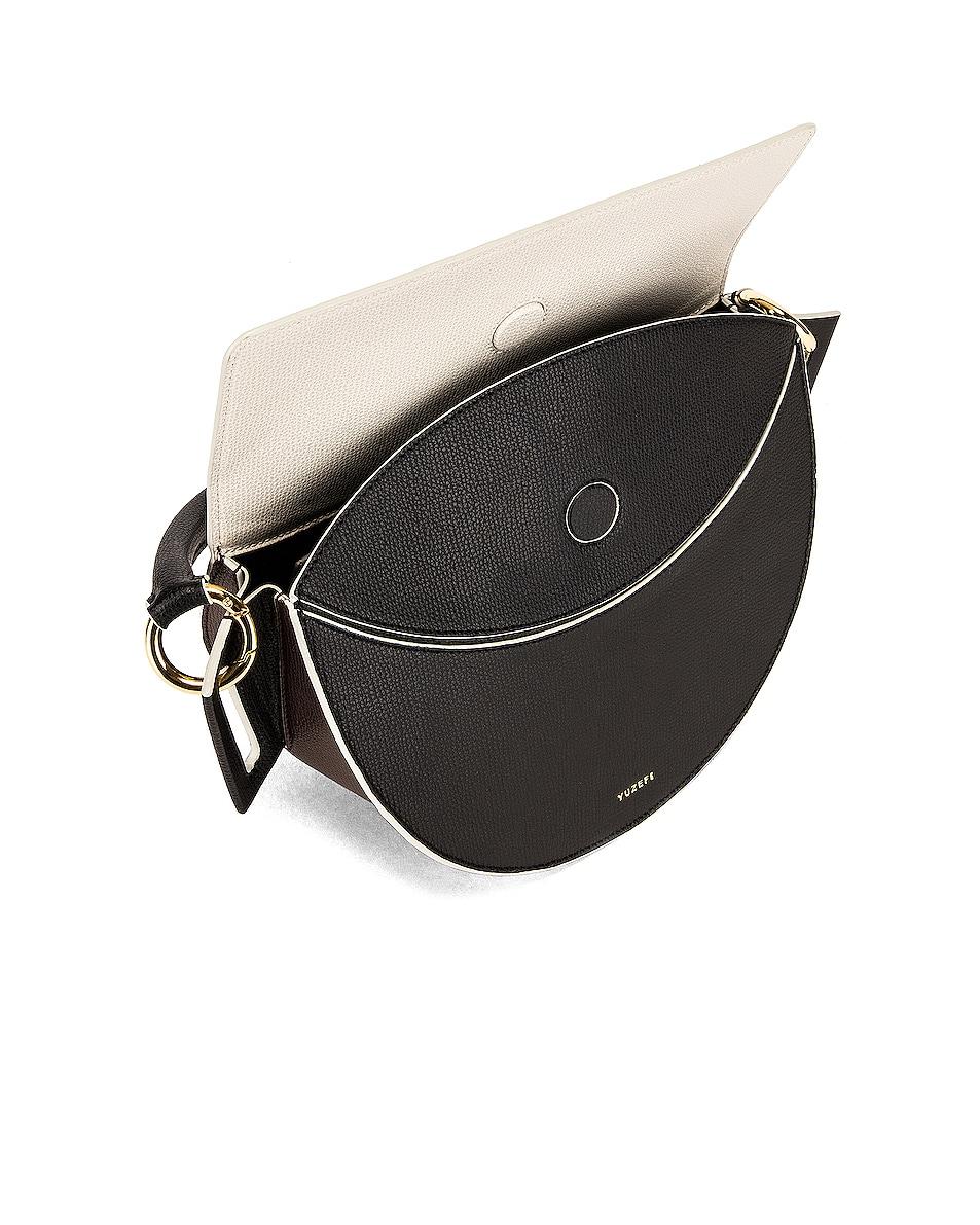 Image 5 of Yuzefi Dip Bag in Nero & Cream
