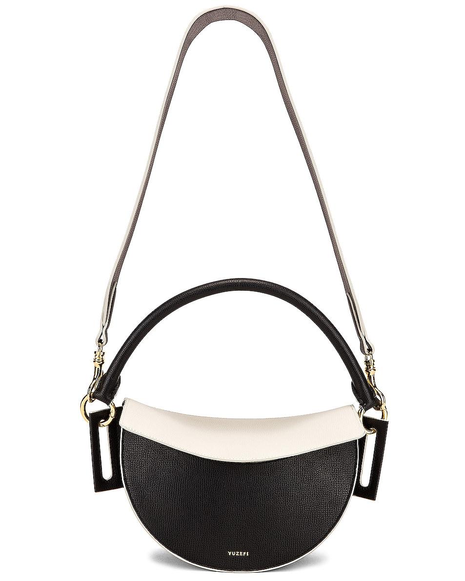 Image 6 of Yuzefi Dip Bag in Nero & Cream