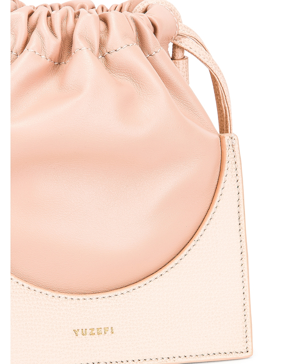 Image 8 of Yuzefi Pouchy Bag in Blush