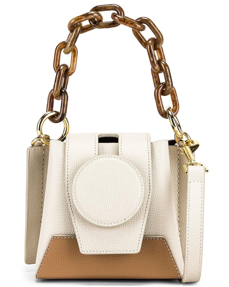 Image 1 of Yuzefi Daria Bag in Cream & Cappuccino