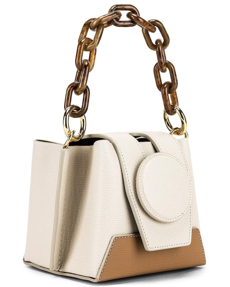 Image 4 of Yuzefi Daria Bag in Cream & Cappuccino