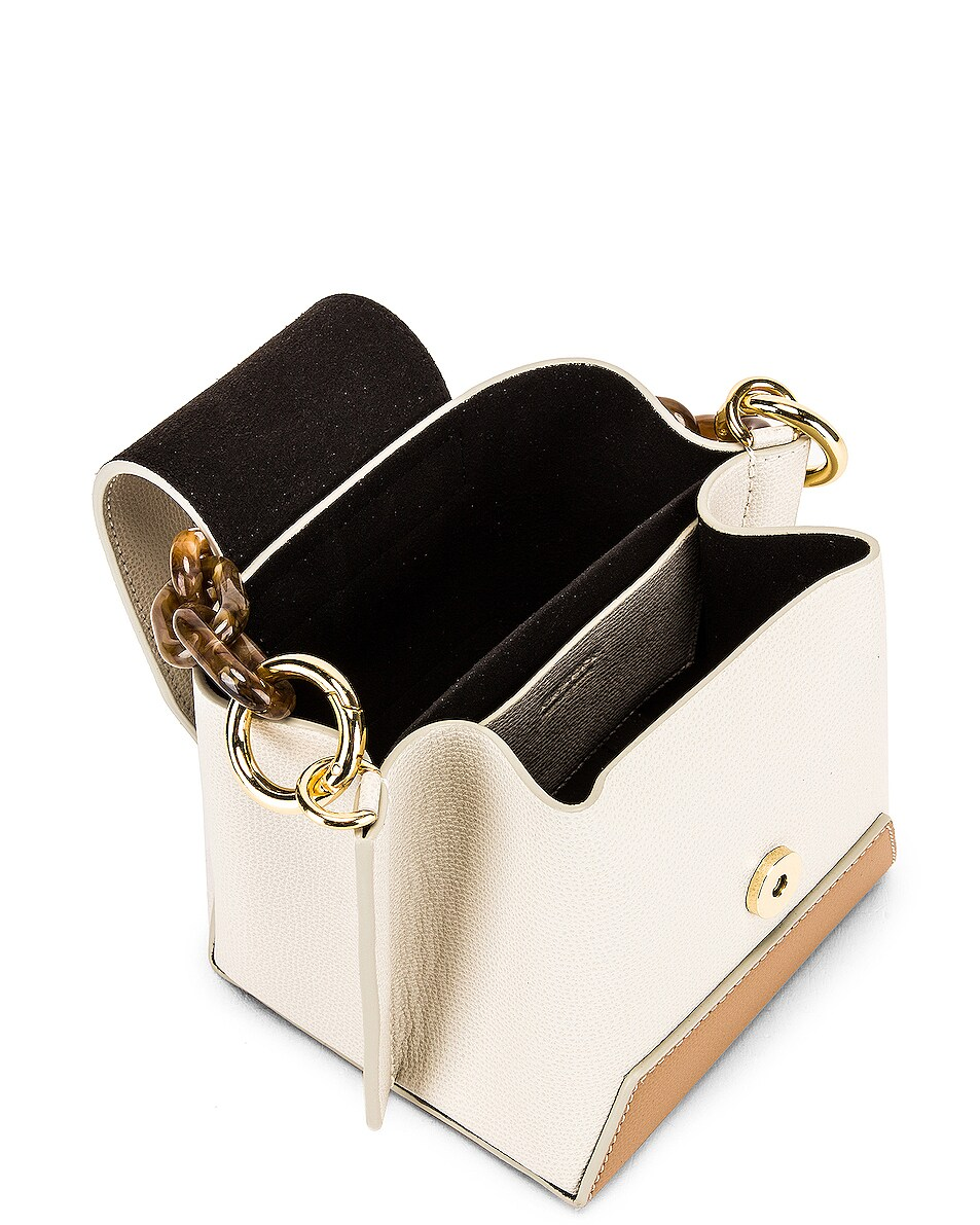 Image 5 of Yuzefi Daria Bag in Cream & Cappuccino