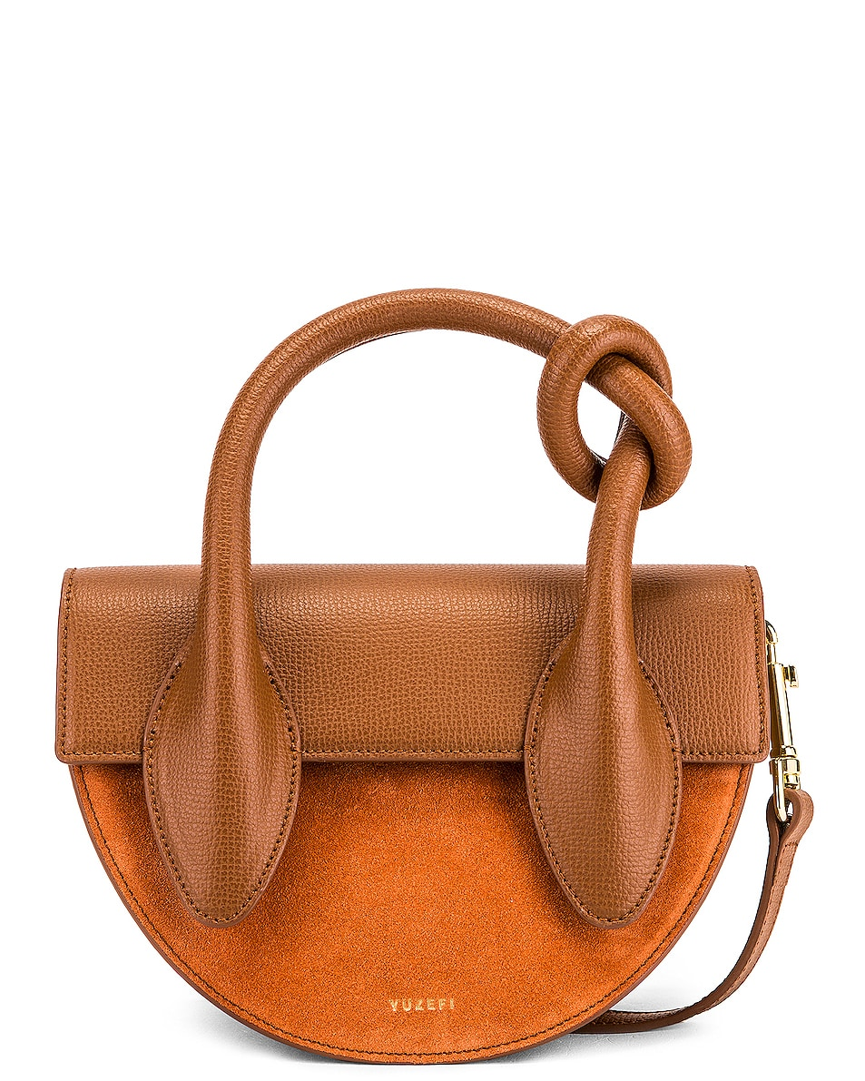 Image 1 of Yuzefi Dolores Bag in Cinnamon & Brick