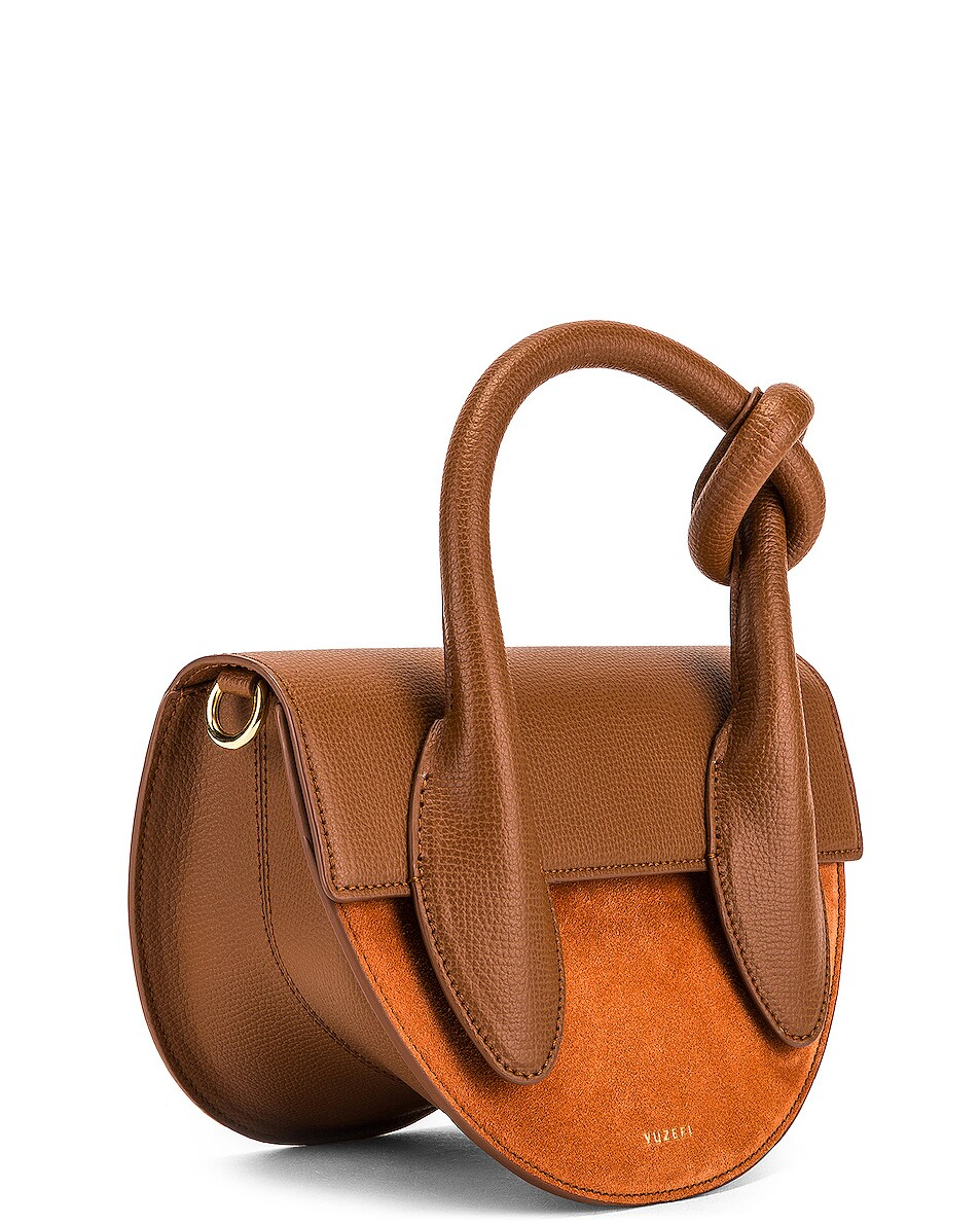 Image 4 of Yuzefi Dolores Bag in Cinnamon & Brick