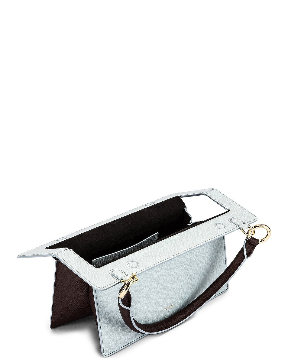 Image 5 of Yuzefi Ada Bag in Blue & Tobacco