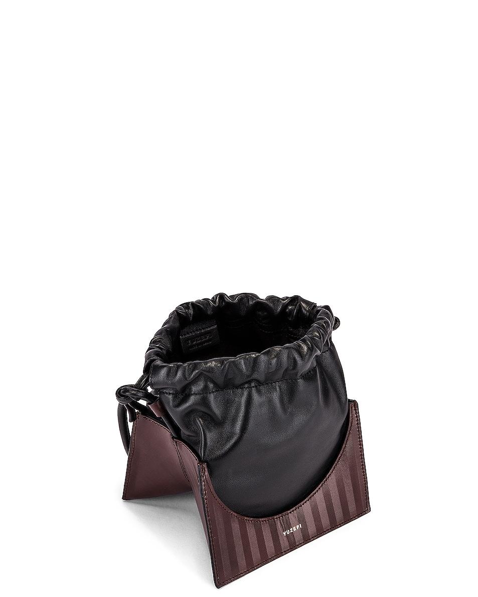 Image 5 of Yuzefi Pouchy Bag in Herringbone & Nero